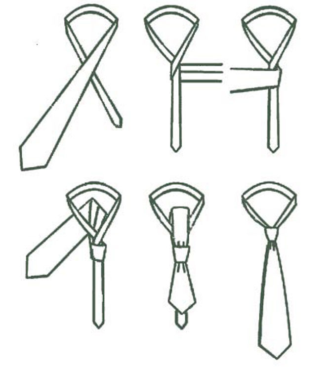 como hacer un nudo de corbata escuela barcelona