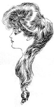 """Gibson Girl"" de Charles Dana Gibson."