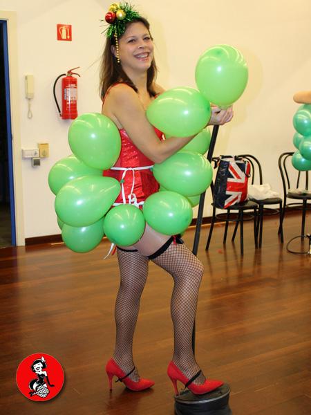 Burlesque-globos