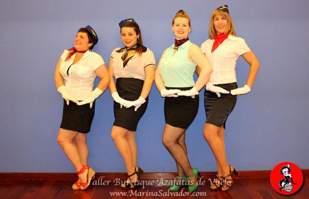 Taller-Burlesque-Azafatas-de-vuelo-3