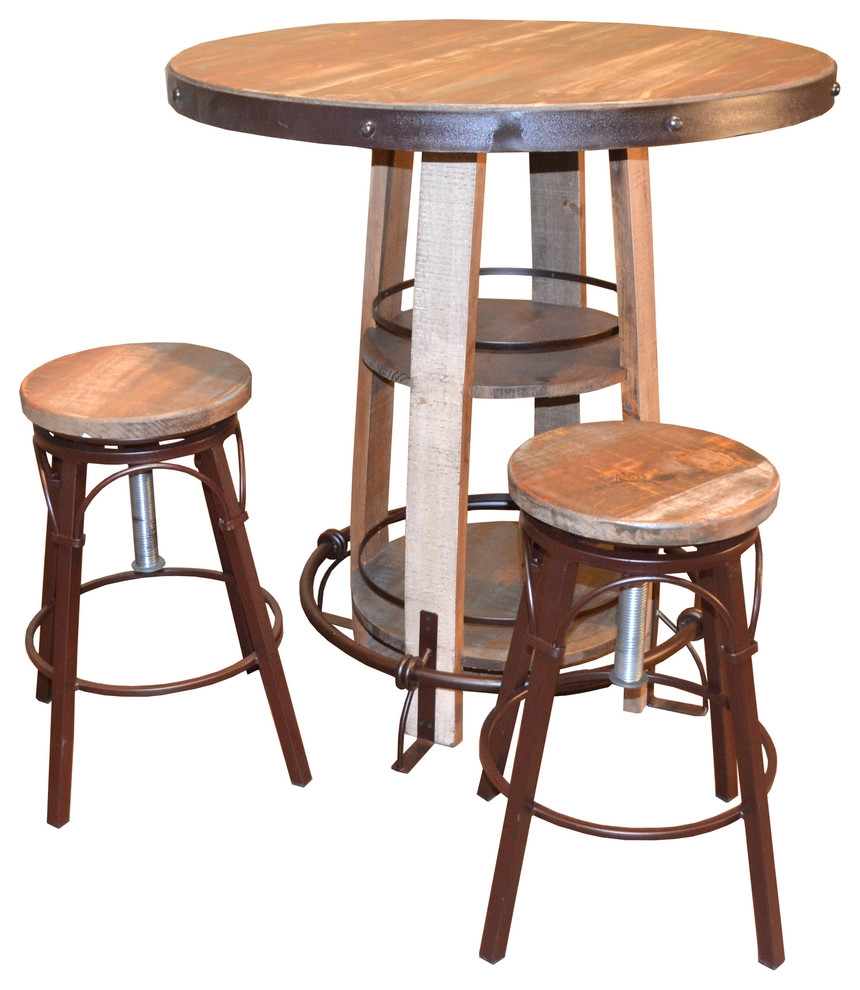 bayshore pub table and chairs 3 piece set