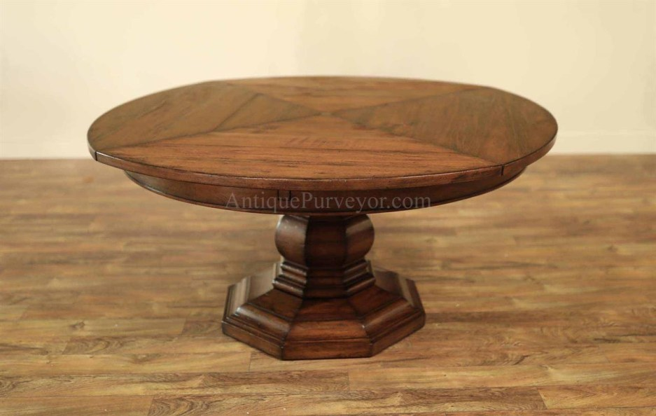 expandable round dining tablesolid walnut jupe dining table