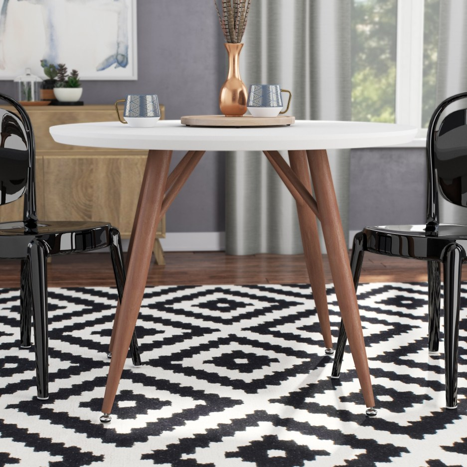 lacquer kitchen dining tables youll love in 2020