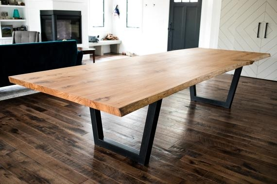 live edge dining tables and coffee tables