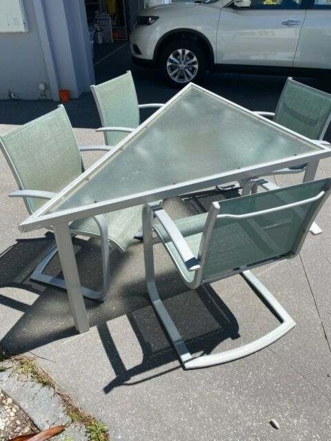 outdoor triangular dining table and chairs dining tables