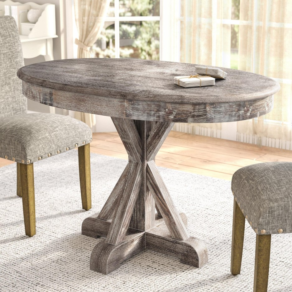 reclaimed wood dining table youll love in 2021 visualhunt