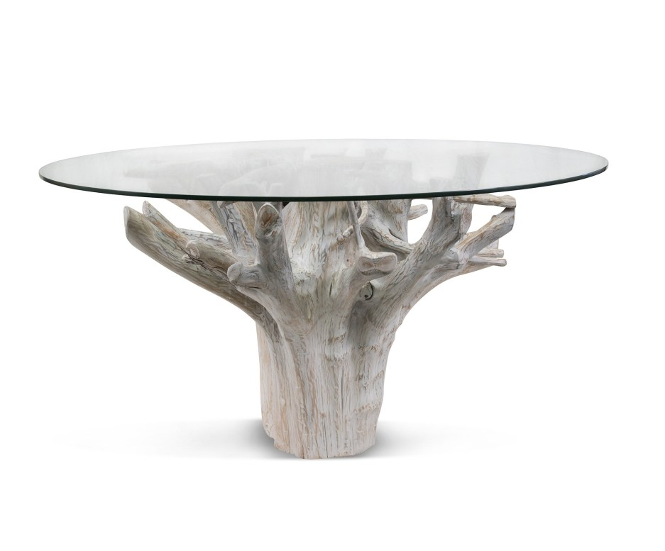 root solid wood dining table