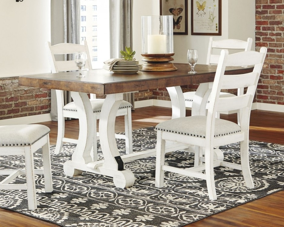 valebeck rectangular dining room table