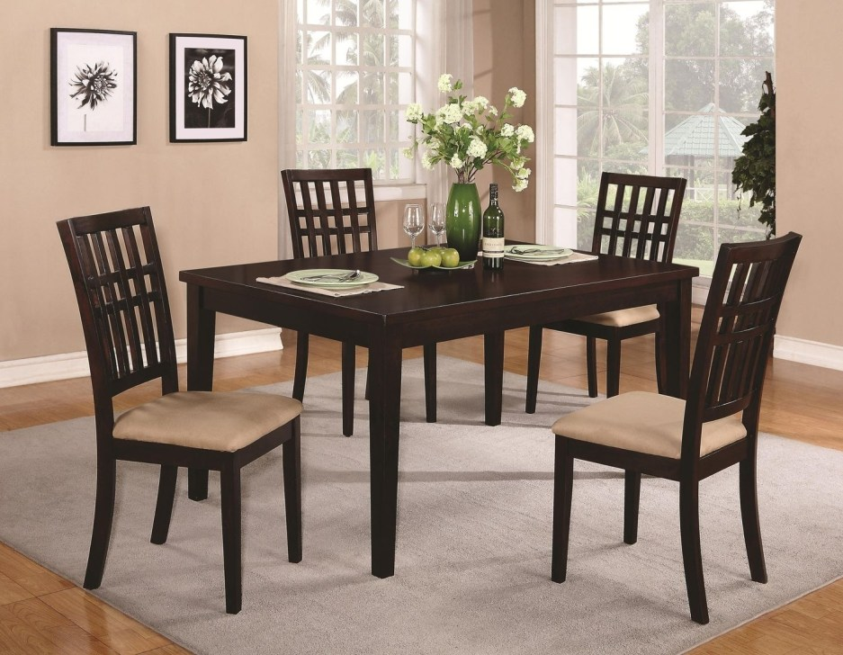 dining room tables dark wood brandt dark cherry wood dining