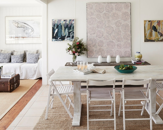 sparkling sydney white washed dining room furniture beach