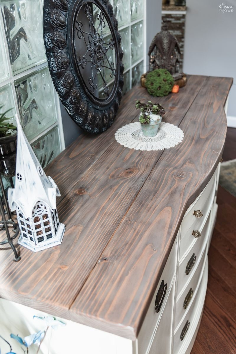 vintage buffet makeover how to paint a buffet table the