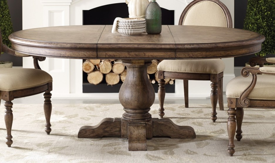 vintage round pedestal dining table home design ideas