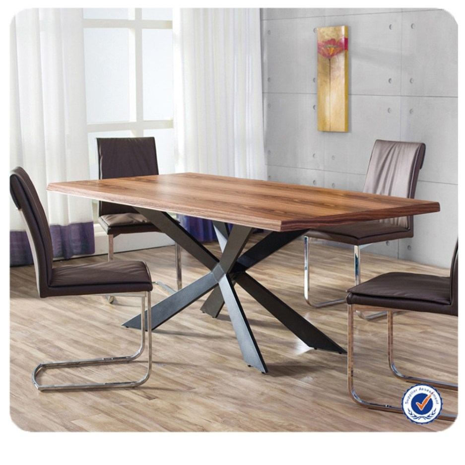 wholesale european style wooden dining table metal legsoak dining table buy metal dining tableoak dining tablewooden dining table product on
