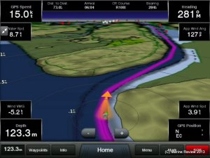 Garmin Helm for Android is coming (iOS version shown)