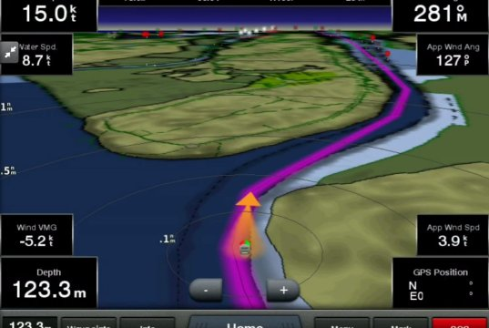 Garmin Helm Display App for iOS (iPhone/iPad)