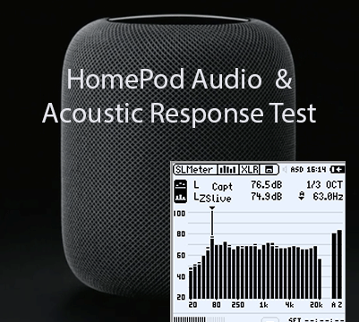 Test of Apple HomePod vs MunroSonic Egg 100