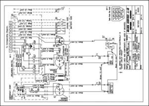 Sabb L3139LB lifeboat diesel engine Wiring Diagram
