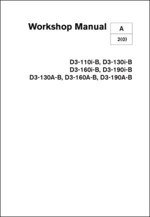 Volvo Penta D3 Workshop Manual  MARINE DIESEL BASICS