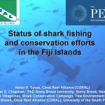 Fiji Shark Awareness Campaign at the 2nd Fiji Conservation Science Forum