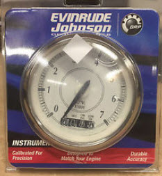 Evinrude Johnson OMC 0775794  System Check 3 TachometerRetro