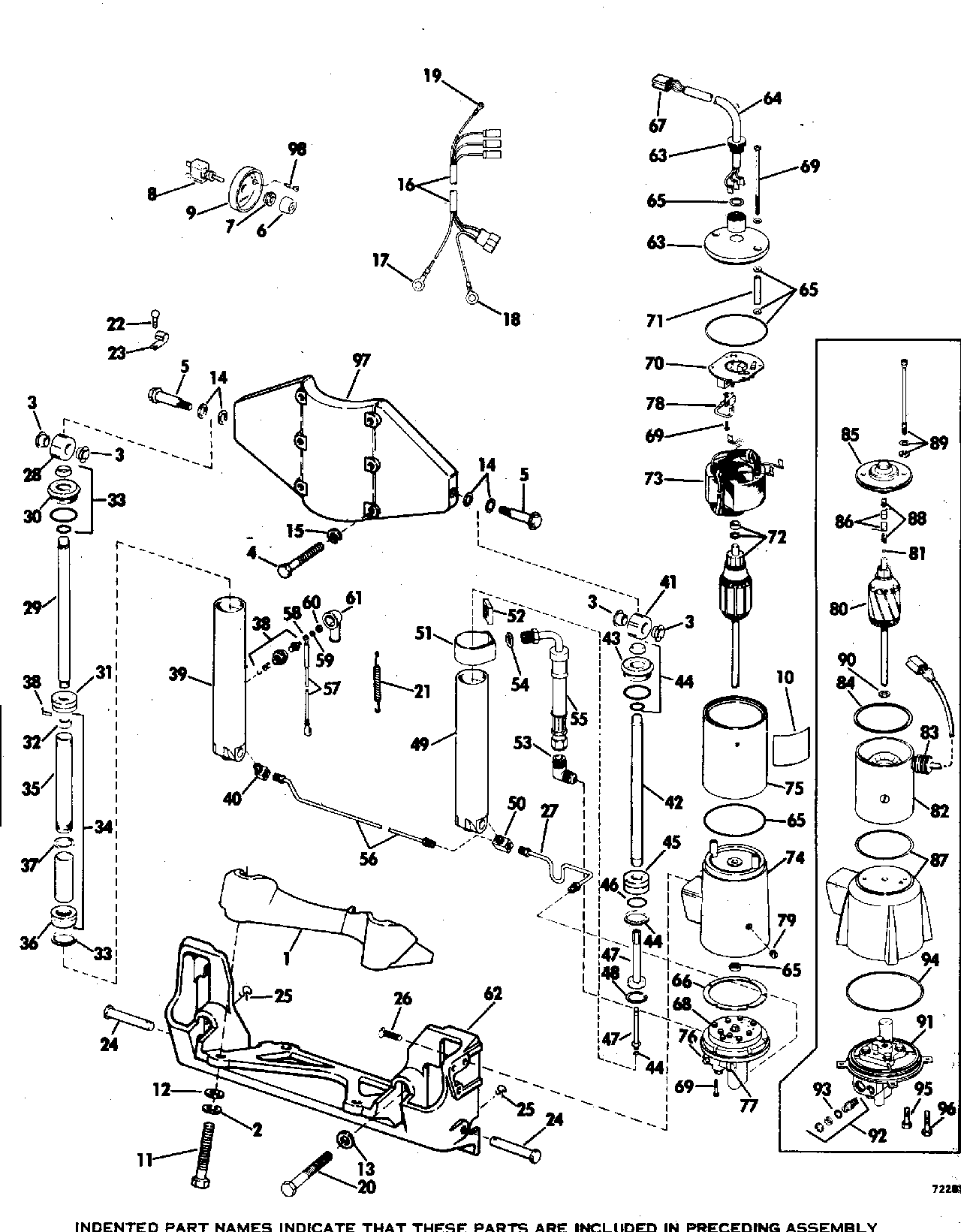 Mercury Power Tilt And Trim Wiring Diagram