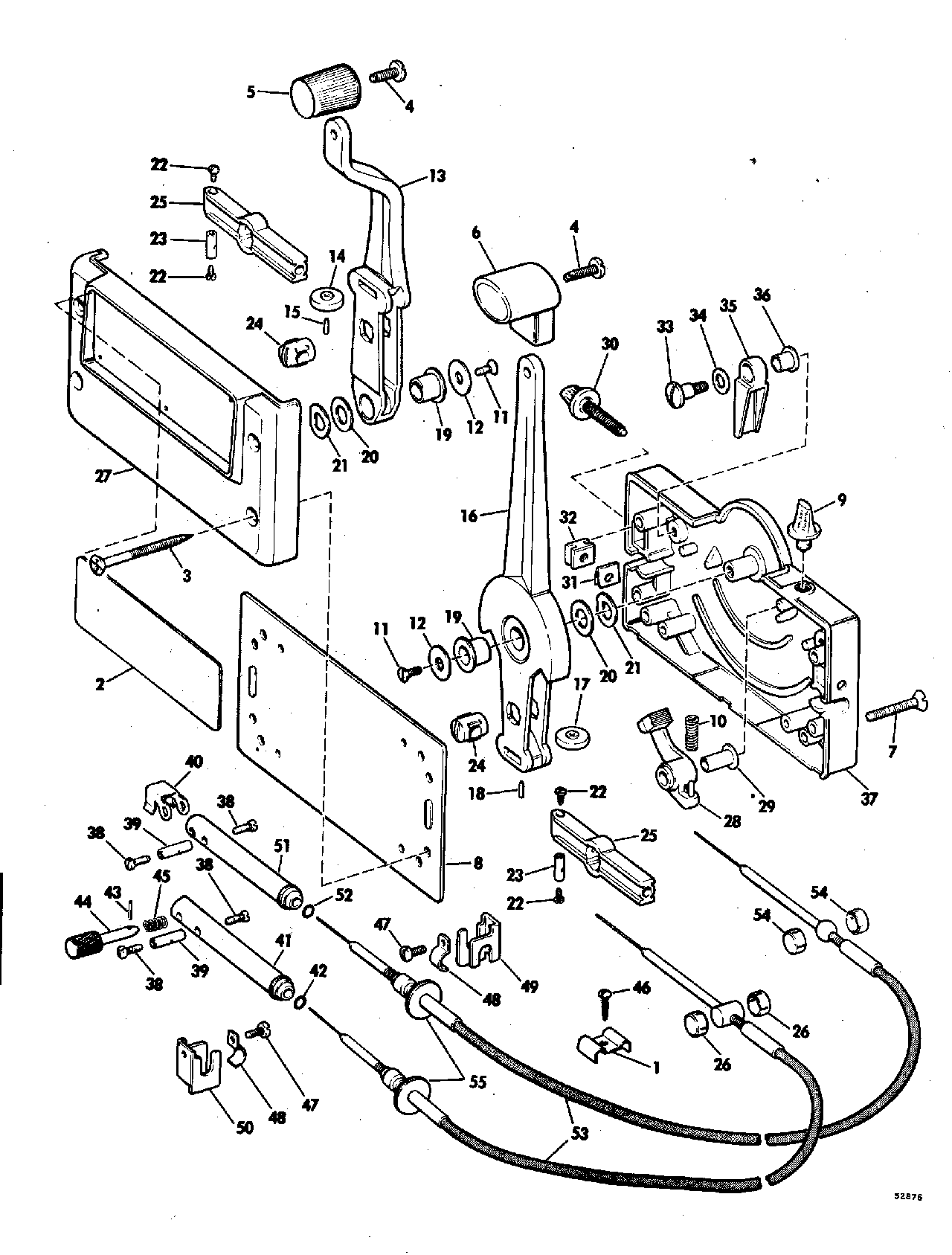 Mercury Outboard Remote Control Electrical Schematic