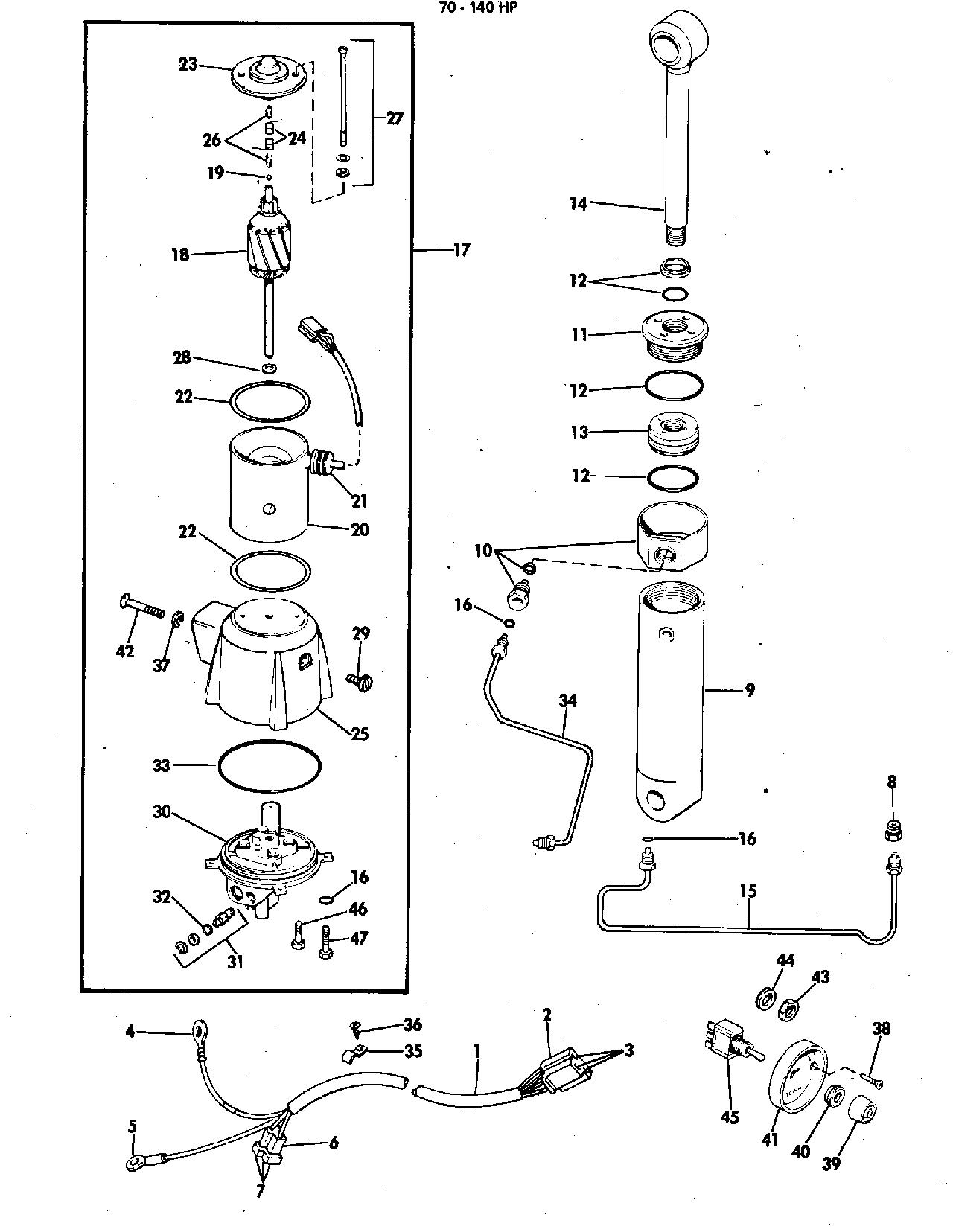 Power Tilt Kit Assembly 70