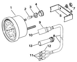 Tachometer Kits  Flush Mount  Analog  Plugin