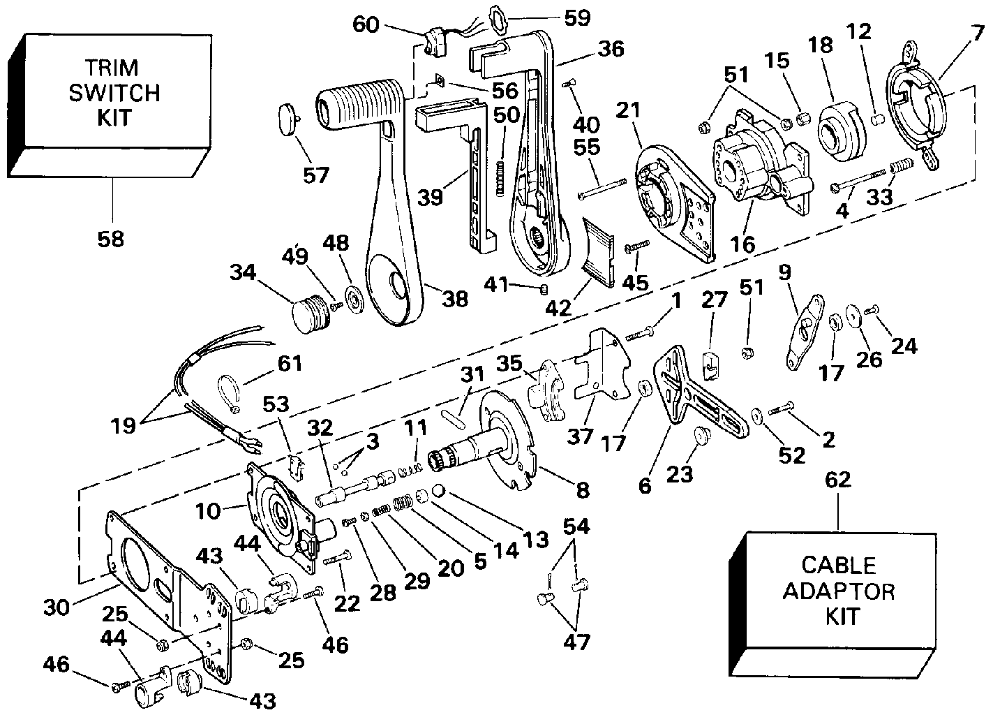 Mercury Outboard Throttle Control Diagram