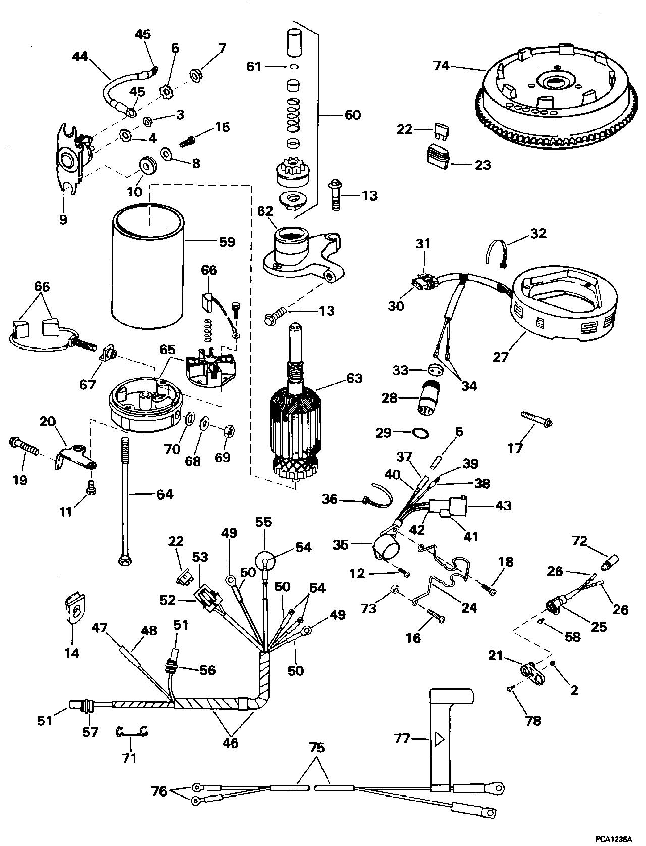 Tiller Electric Start Kit