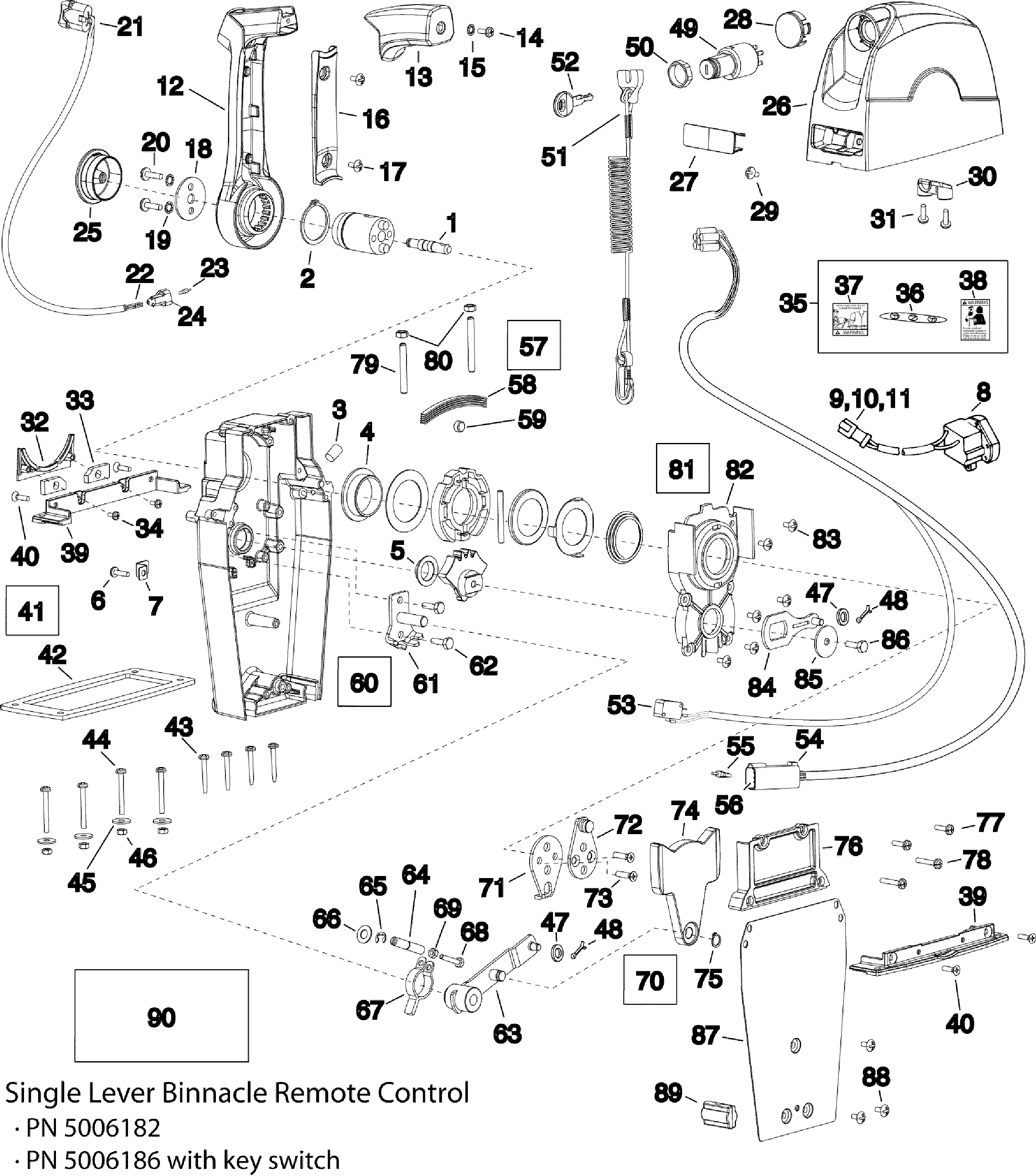 Tohatsu Outboard Wiring Harness Diagram Wiring Diagram