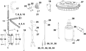 Electric Start Kit  25, 30 Hp (etec) Electrical