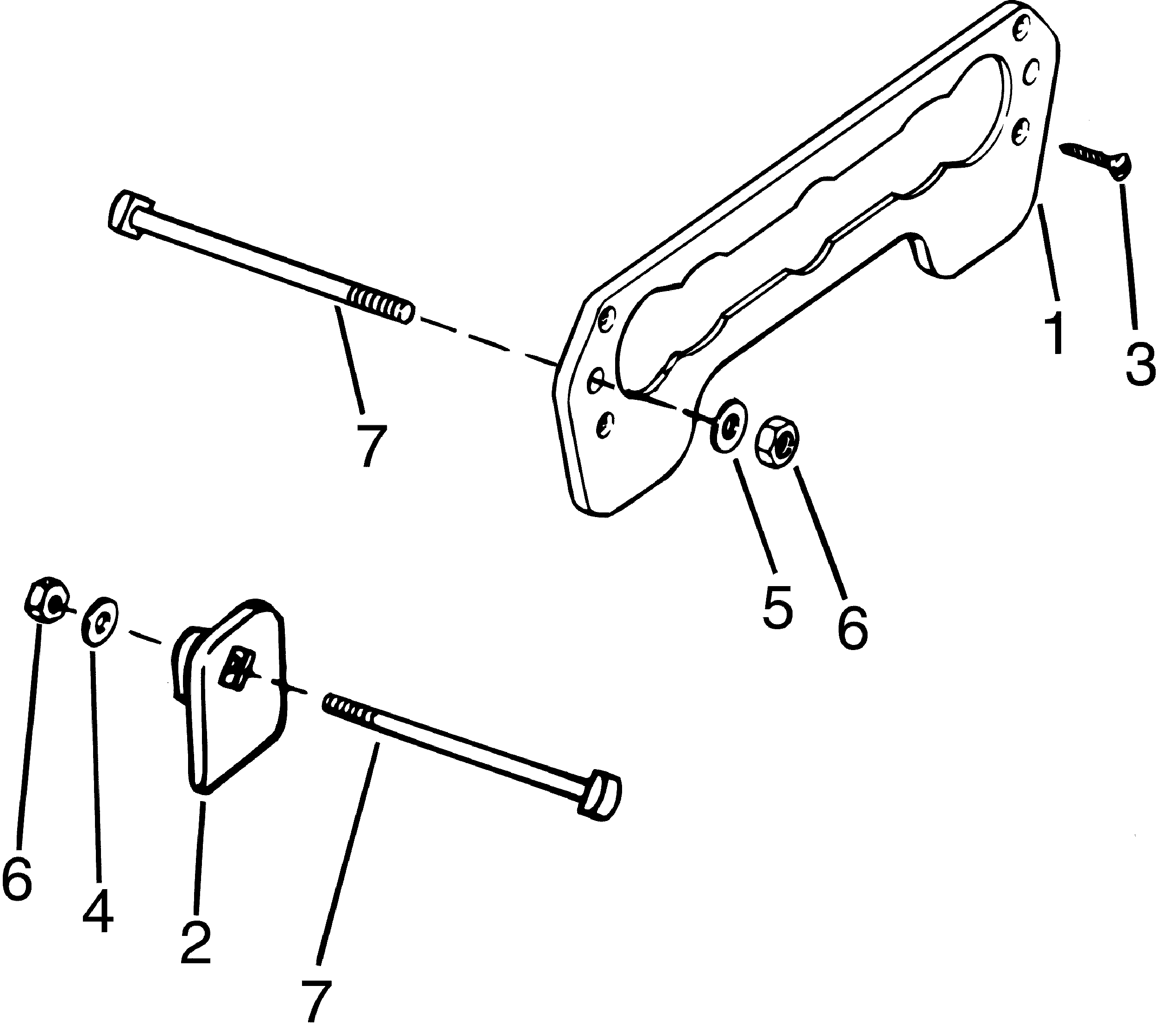Transom Mount Kit