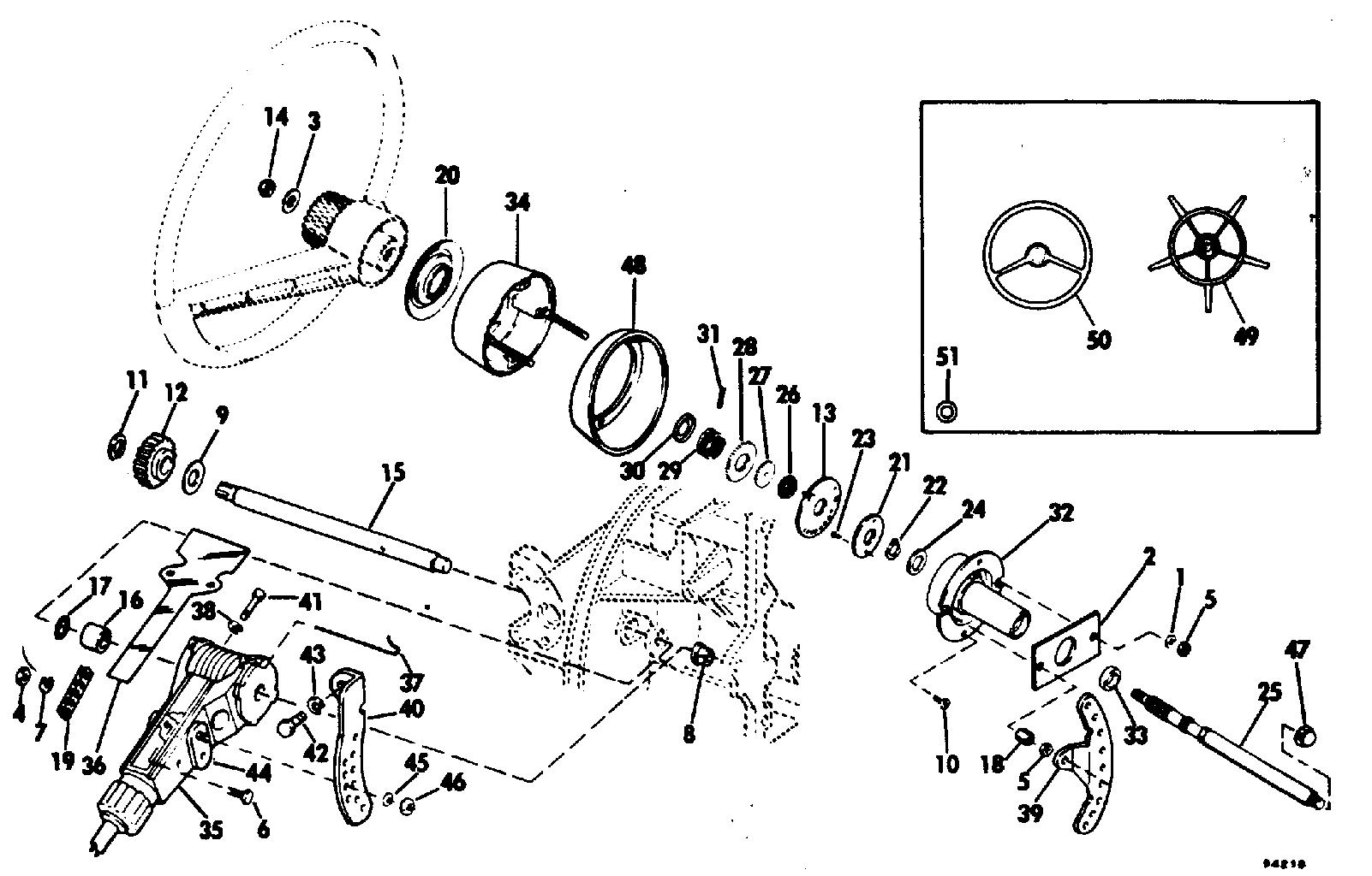 Omc Steering Diagram