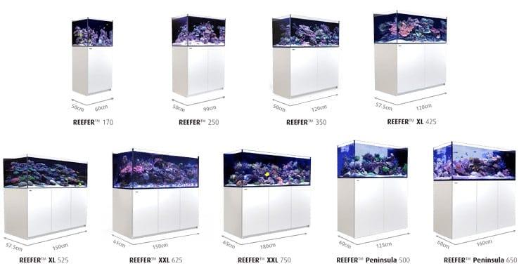reefer aquarium range