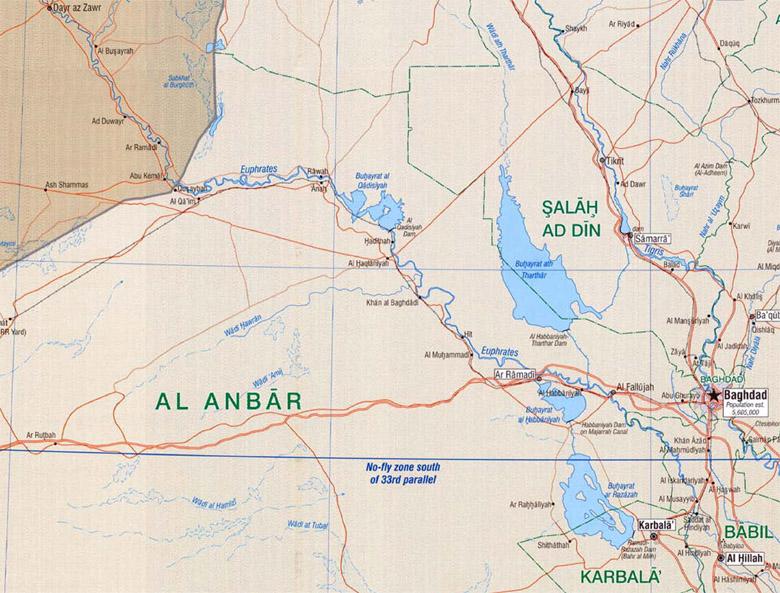 Haditha in Iraq