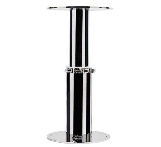 Manual pedestal inox