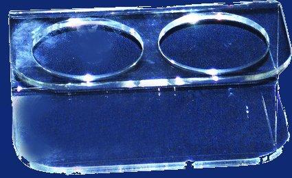 Two glasses holder