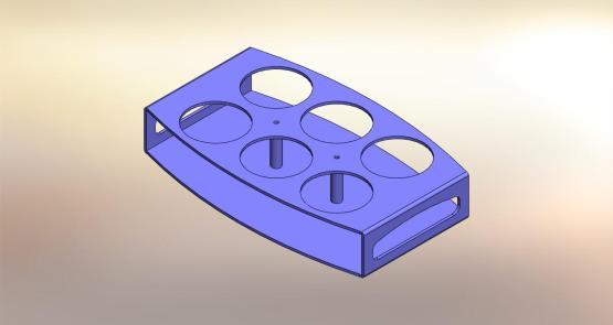 Vassoio plexyglass