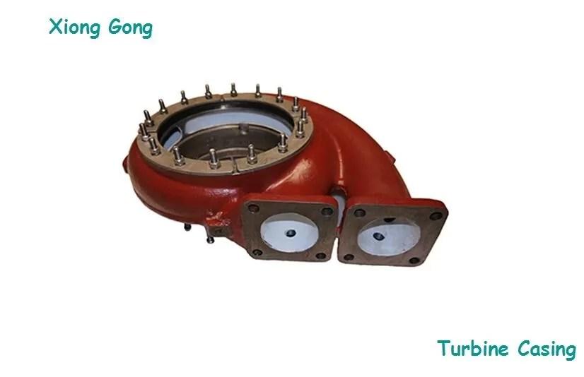 abb martine turbo exhaust housing tps series turbine casing two hole