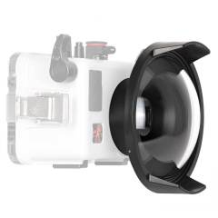 Ikelite 6403 DC3 6-inch dome for compact housing
