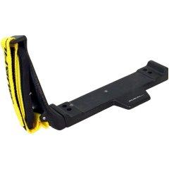 Bodenplatte mit rechtem Handgriff aus Aluguss