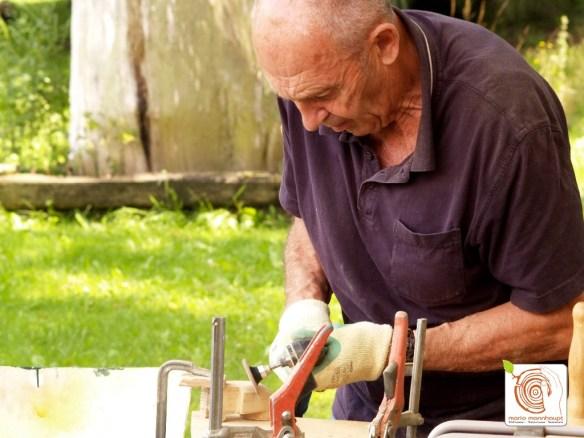 Photo Die Bildhauerkurse in Kolzenburg werden von allen Altersgruppen besucht.