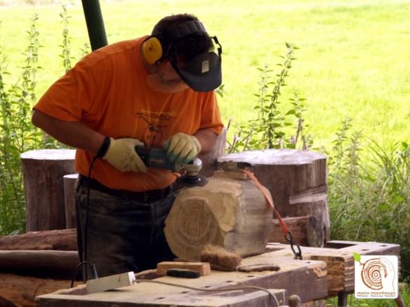 Photo Jetzt folgt die Holzbearbeitung!