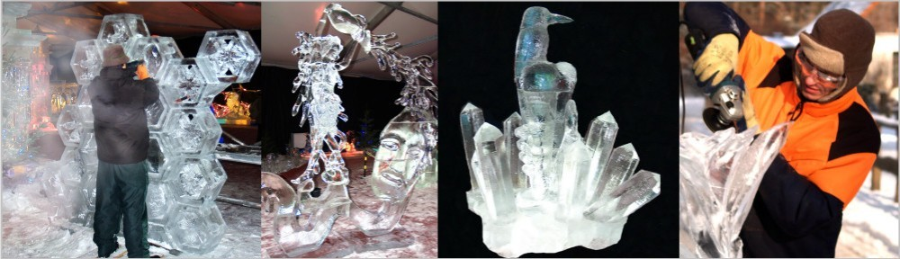 ICE Carving - Live