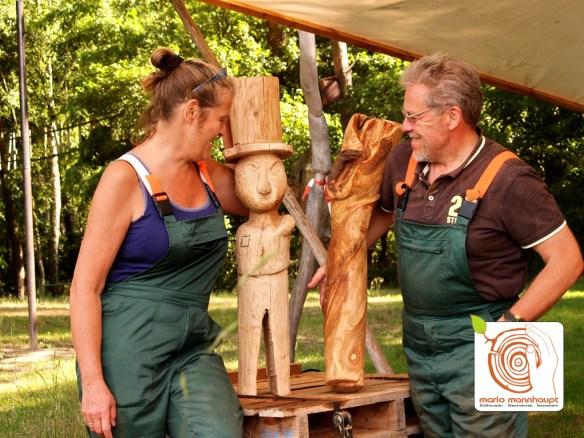 Workshop bei Mario_Moderne Bildhauerei mit Holz
