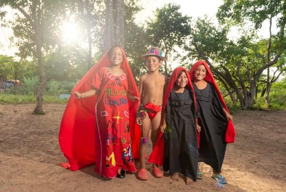 Niños Wayúu en la Guajira