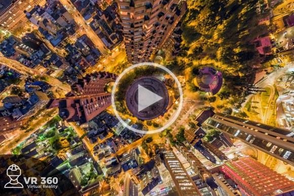 Fotografía Aérea 360 de la Plaza de Toros de Bogotá
