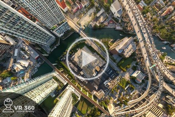Fotografía Aérea 360 de Miami Downtown