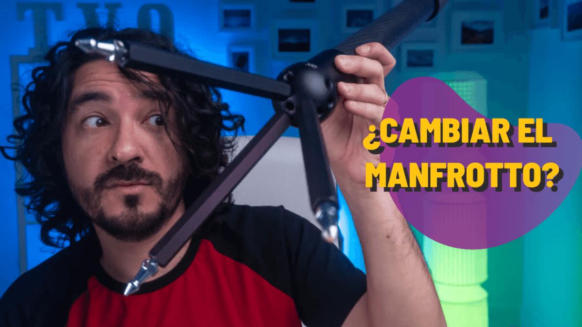Mario Carvajal usando Freedom360, vara para hacer fotografías y videos VR 360